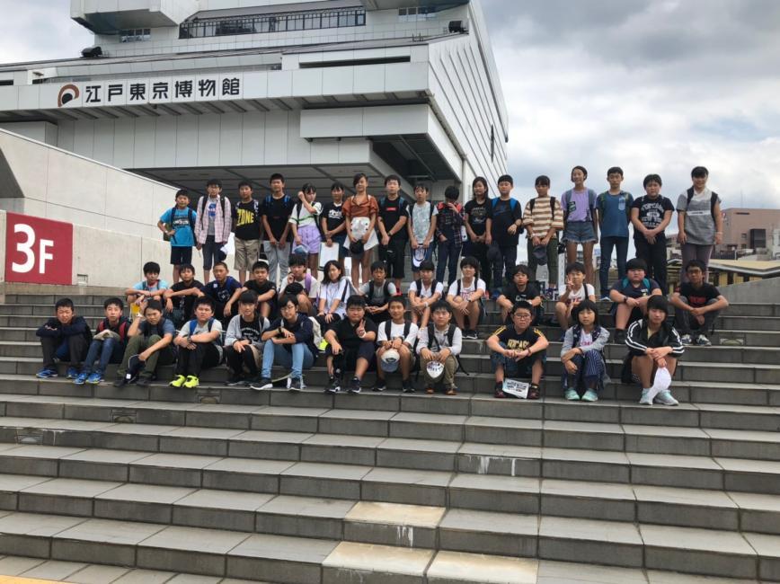 江戸東京博物館にて